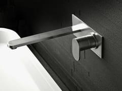 - Wall-mounted steel washbasin tap SINOX   Wall-mounted washbasin tap - Signorini Rubinetterie