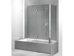 - Folding glass bathtub wall panel SINTESI SV+SI - VISMARAVETRO