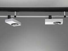 - LED extruded aluminium track-light SISTEMA BRICK | LED spotlight - Martinelli Luce