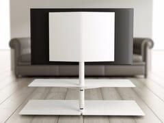 SUPPORTO PER MONITOR/TV IN METALLO A PAVIMENTOSITAME - SYSTEMTRONIC