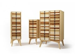 - Free standing solid wood chest of drawers SIXTEMATIC 2 | Chest of drawers - sixay furniture