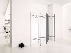 - Powder coated steel coat rack SKETCH | Powder coated steel coat rack - Schönbuch