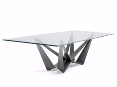 - Rectangular crystal table SKORPIO - Cattelan Italia