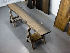 Piano per tavoli in querciaSLAB 110/15 - EDWOOD