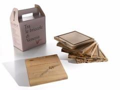 Piatto / tagliere in legnoSLICE OF BRICCOLE - RIVA 1920