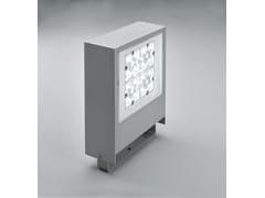 - LED die cast aluminium Outdoor floodlight SLIM F.8302 - Francesconi & C.
