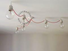- Lampada a sospensione a luce diretta in porcellana SOCKET 018 | Lampada a sospensione - ZANGRA