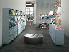 - Modular floor-standing retail display unit SOCRATE DISPLAY | Floor-standing retail display unit - Caimi Brevetti