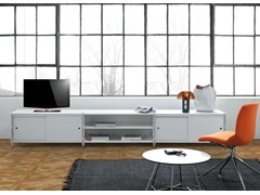- Low lacquered TV cabinet SOCRATE HOME | Lacquered TV cabinet - Caimi Brevetti