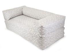 - Upholstered 2 seater garden sofa SOFA MOOG DELUXE - Pusku pusku