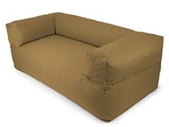 - 2 seater fabric sofa with removable cover SOFA MOOG NORDIC - Pusku pusku