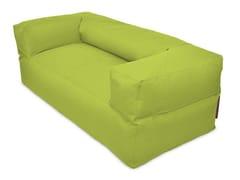 - 2 seater fabric sofa with removable cover SOFA MOOG OX - Pusku pusku