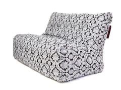 - Double upholstered fabric garden armchair SOFA SEAT DELUXE - Pusku pusku