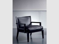 - Leather easy chair with armrests SOFIA | Easy chair with armrests - Marac