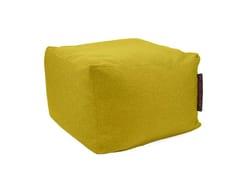 - Square fabric garden pouf SOFTBOX NORDIC - Pusku pusku