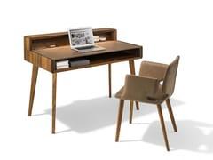 - Solid wood secretary desk SOL - TEAM 7 Natürlich Wohnen