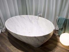 - Carrara marble bathtub SOLIDEA | Carrara marble bathtub - Antonio Lupi Design®