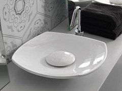- Countertop ceramic washbasin SOUL | Ceramic washbasin - Hidra Ceramica