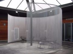 Tenda a fili in alluminioSPACE DIVIDER - CURVED SPA - KRISKADECOR