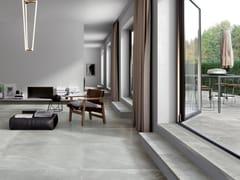 Pavimento in gres porcellanato effetto pietra per interni ed esterniSPACES LIGHT - CERAMICA FONDOVALLE