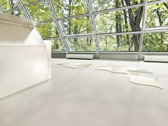 - Ecological continuous flooring SPARKLING GREY - Vorwerk & Co. Teppichwerke