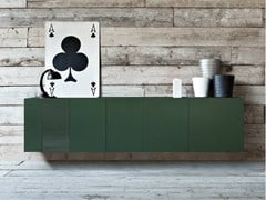 - Lacquered suspended sideboard SPAZIO | MOD. M167 - PIANCA