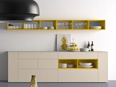 - Modular lacquered sideboard SPAZIO | MOD. S306 - PIANCA