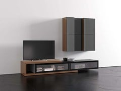 - Contemporary style sectional modular storage wall SPAZIO | MOD. S411 - PIANCA