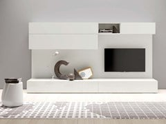 - Sectional lacquered modular storage wall SPAZIO | MOD. S431 - PIANCA