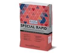 Adesivo autobagnante per pavimenti in interno/esternoSPECIAL RAPID - FASSA