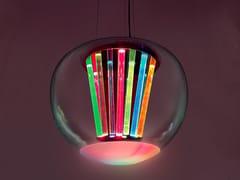 LAMPADA A SOSPENSIONE A LED A LUCE DIRETTA IN VETRO SOFFIATOSPECTRAL LIGHT - ARTEMIDE