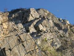 Rete di protezione per consolidamento versantiSPIDER® SYSTEM - GEOBRUGG ITALIA