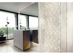 - Double-fired ceramic wall tiles SPLENDIDA SHINY CURL - CERAMICHE BRENNERO