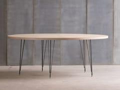 - Custom birch table SPUTNIK MTM - Heerenhuis