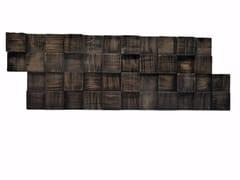 Rivestimento tridimensionale in legno per interniSQUARRO - CLADDYWOOD