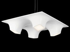 - LED PMMA pendant lamp SQUEEZE 4 - Nimbus Group