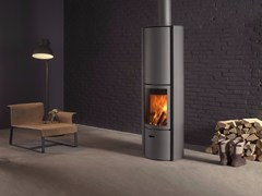 - Wood-burning swivel stainless steel stove STÛV 30-COMPACT - Stûv