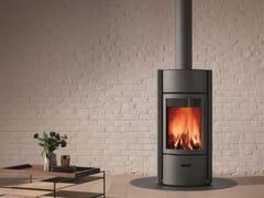- Wood-burning swivel stainless steel stove STÛV 30 - Stûv