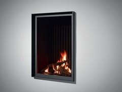 - Gas wall-mounted steel fireplace STÛV B-60 PB - Stûv