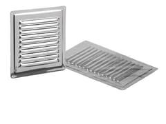 Griglia di ventilazione in acciaio inoxGRIGLIA FISSA NON MAGNETICA - DAKOTA GROUP