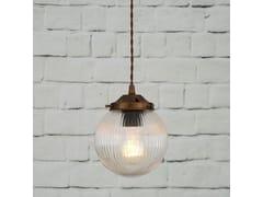 - Direct light handmade pendant lamp STANLEY 160MM HOLOPHANE GLOBE PENDANT - Mullan Lighting