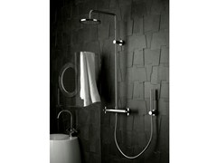 - Shower tap with hand shower with overhead shower STARFLÒ | Shower tap with overhead shower - Signorini Rubinetterie