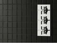 - 3 hole thermostatic shower mixer STARFLÒ | Thermostatic shower mixer - Signorini Rubinetterie