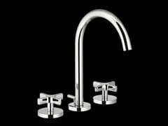 - 3 hole countertop washbasin tap STARFLÒ | Countertop washbasin tap - Signorini Rubinetterie