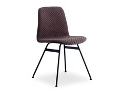 - Upholstered fabric chair STEEL COPILOT CHAIR | Fabric chair - dk3