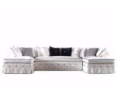 - Divano imbottito modulare in tessuto STEPHANY | Divano modulare - Gianfranco Ferré Home