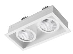 - LED rectangular recessed steel spotlight STIP 2 - LED BCN Lighting Solutions