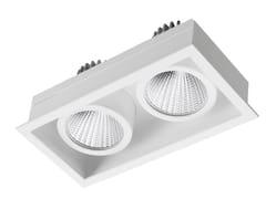 - Faretto a LED rettangolare in acciaio da incasso STIP 2 - LED BCN Lighting Solutions