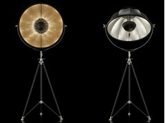 - Indirect light adjustable floor lamp STUDIO 76 - Fortuny® by Venetia Studium