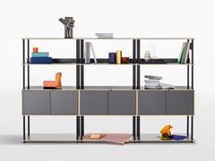 Libreria ufficio a giorno modulareSTUDIO   Libreria ufficio modulare - BENE
